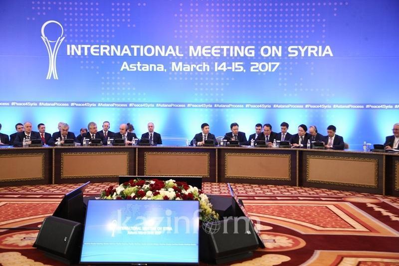 АҚШ Астана процесінің Сириядағы жағдайда реттеуге үлес қосқанын мойындады