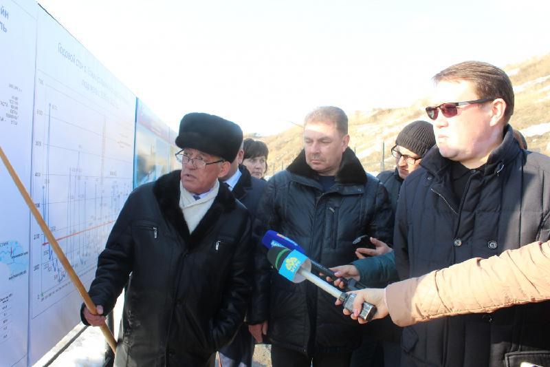 Подготовку к паводку в Северо-Казахстанской области оценил замглавы МВД РК
