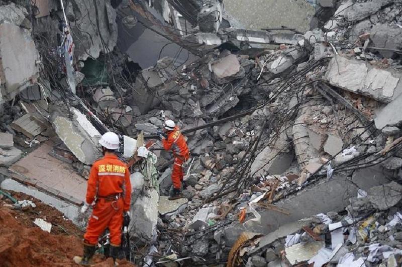 Қытайдың оңтүстігінде электр станциясы құлап, 9 адам қаза болды