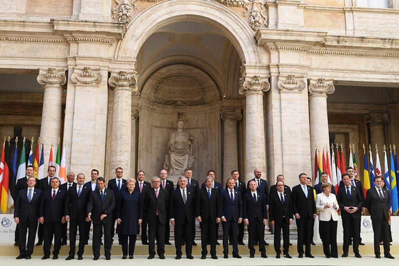 ЕО елдерінің басшылары одақтың болашағына қатысты Рим декларациясына қол қойды