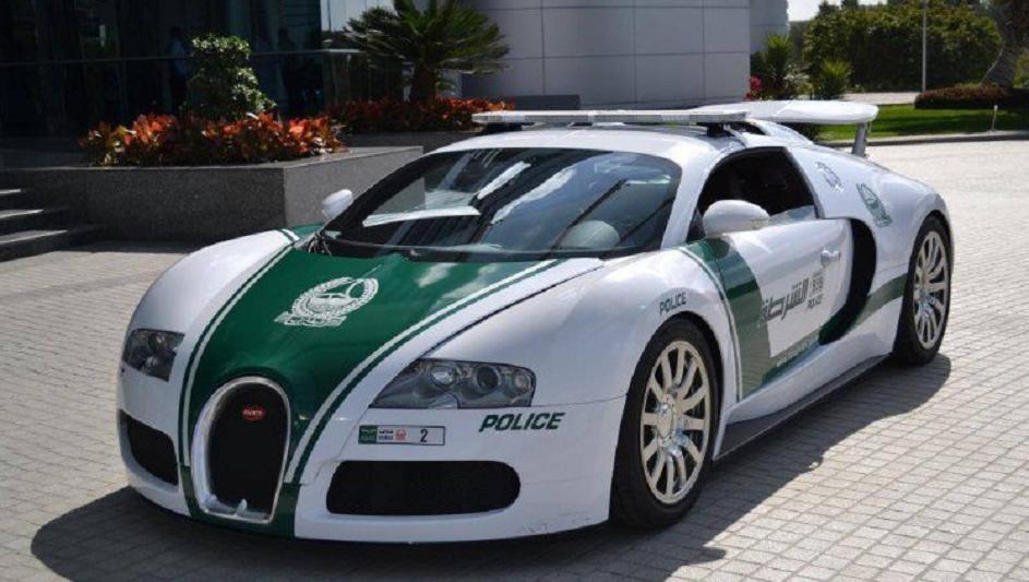 Дубай полициясының көліктері Гиннестің рекордтар кітабына енді