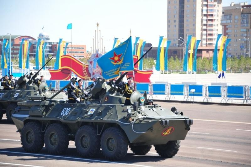 Grand military parade to be held on May 7 in Astana