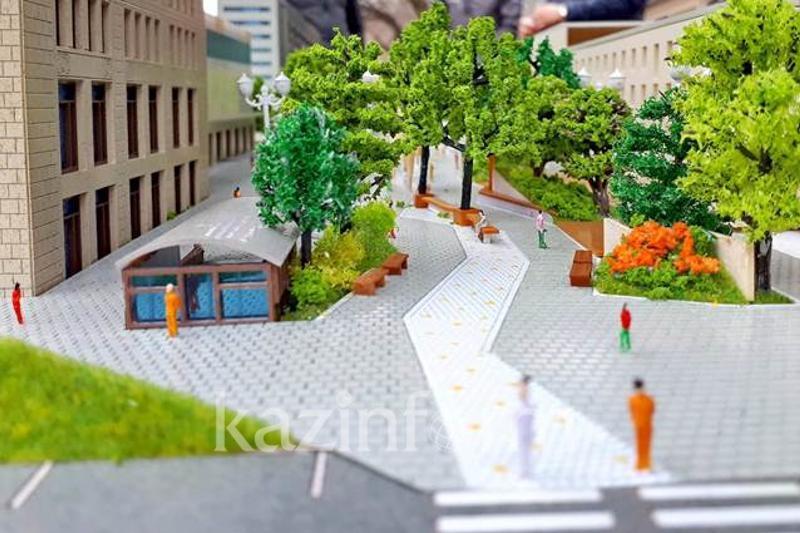 Как будет выглядеть Арбат в Алматы после реконструкции