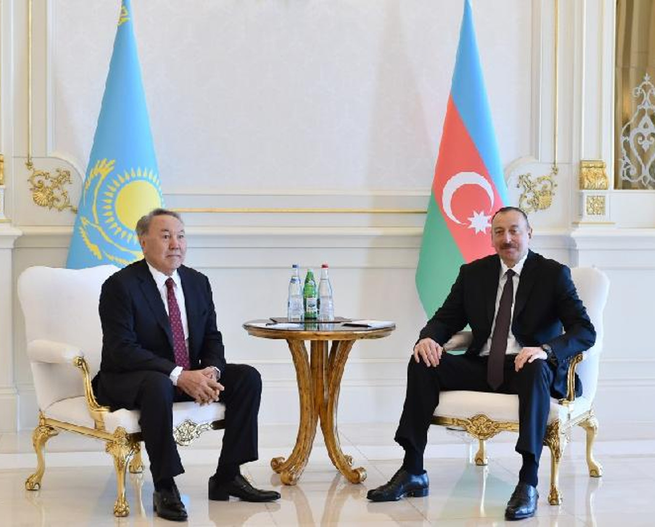 В резиденции «Загульба» прошла встреча президентов Азербайджана и Казахстана