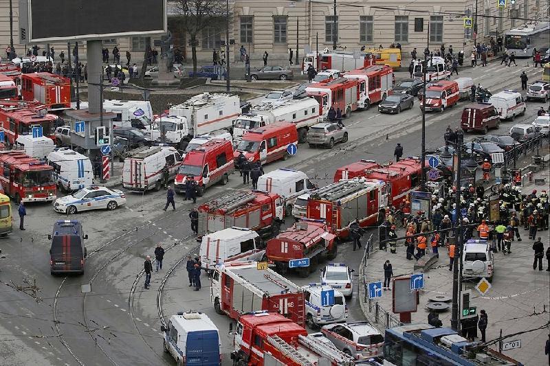 КНБ не отрицает возможность причастности ИГИЛ ко взрыву в Санкт-Петербурге
