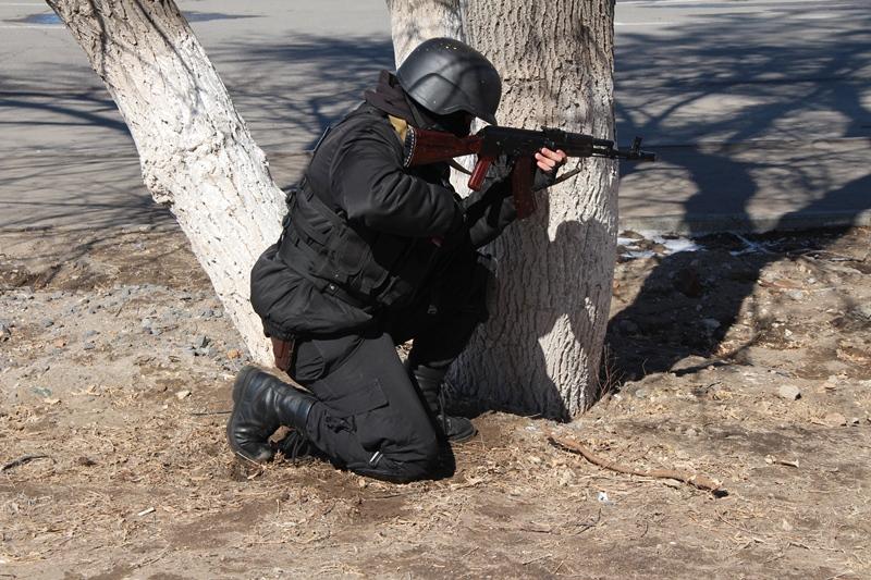 Бороться с терроризмом учится полиция в Павлодаре
