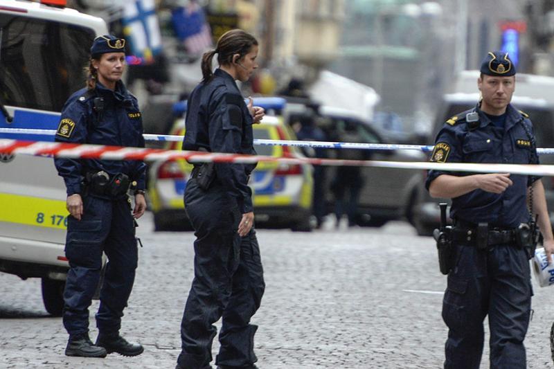 Стокгольмнің орталығында жүк көлігі адамдарды таптап кетті
