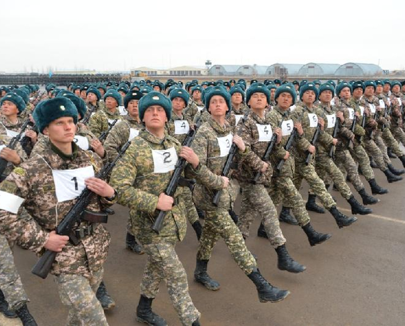 Astana prepares for military parade