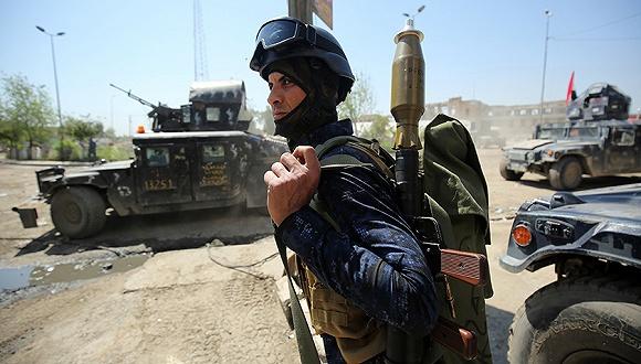 伊拉克军方打死27名达伊什武装分子