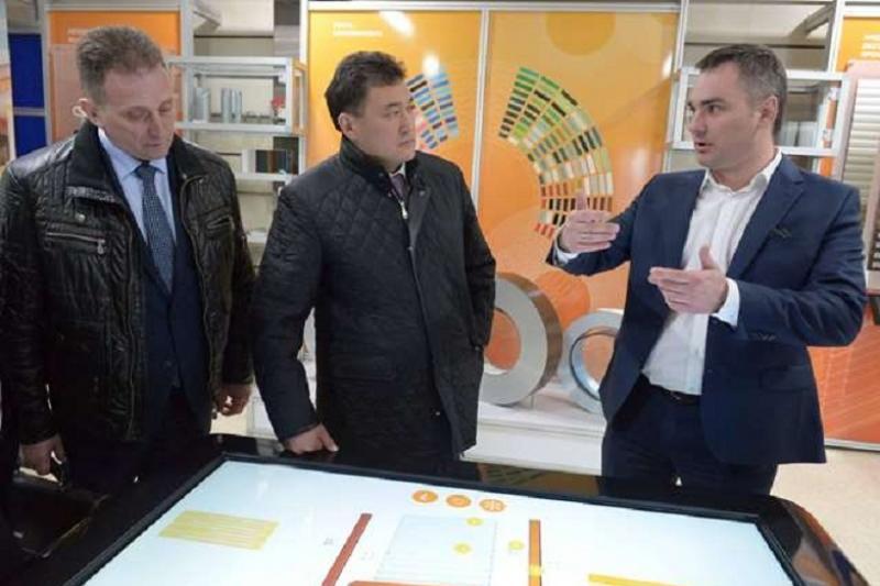 Аким Бакауов представил инвестиционный потенциал Павлодарской области в Беларуси