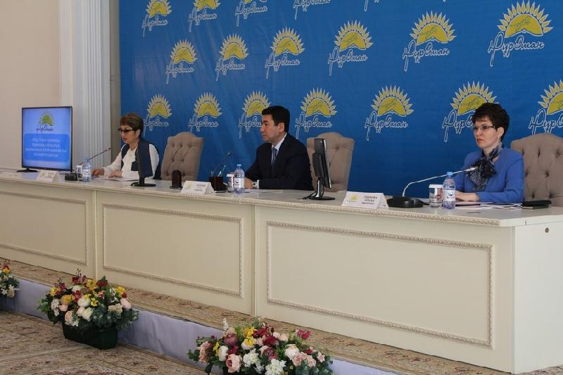Head of Karaganda branch of Nur Otan Party elected