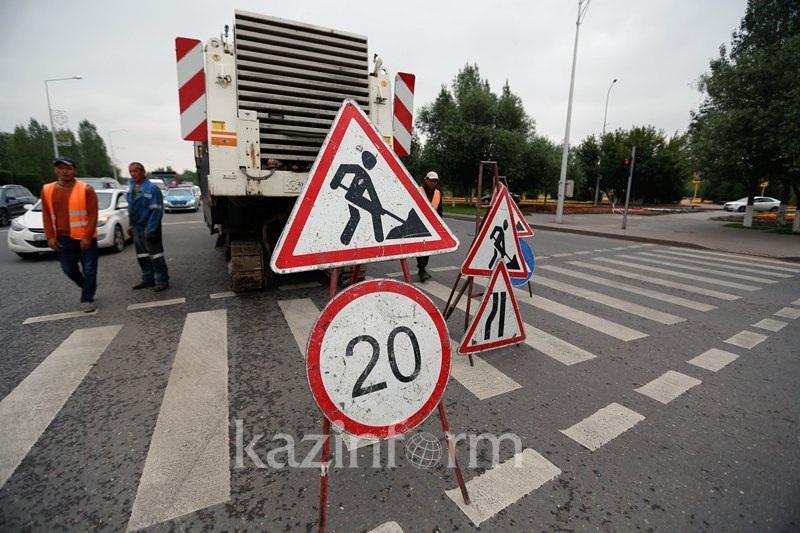 В Алматы ограничат движение по проспекту Абая