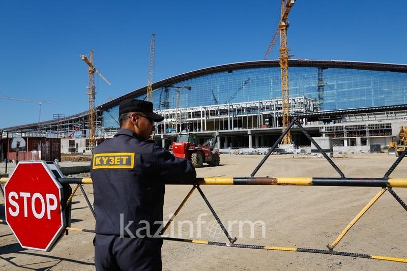 """阿斯塔纳新火车站起名为""""光明大道"""" 6月1日正式投入使用"""