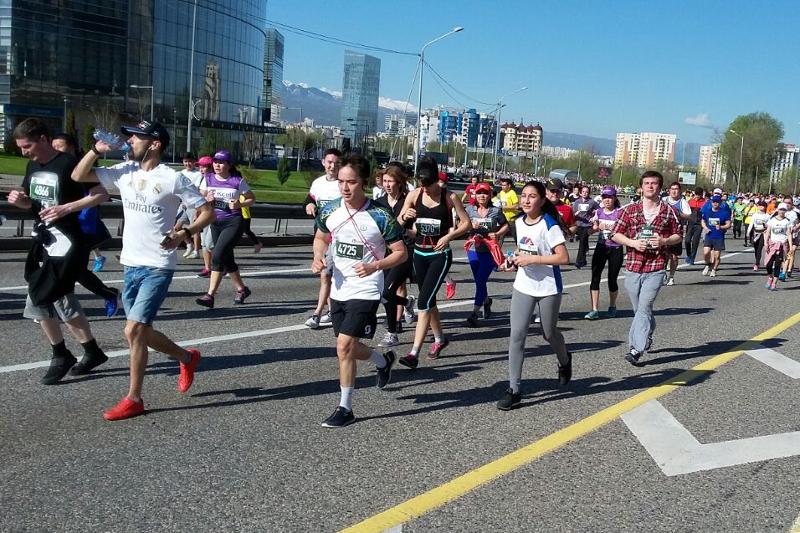 Almaty Marathon 2018 to take place April 22