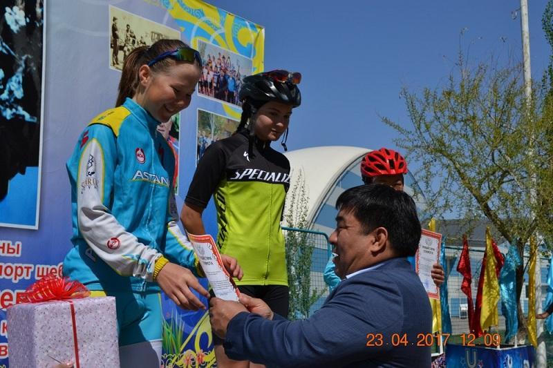 Юные казахстанцы приняли участие в веломногодневке в Кызылорде