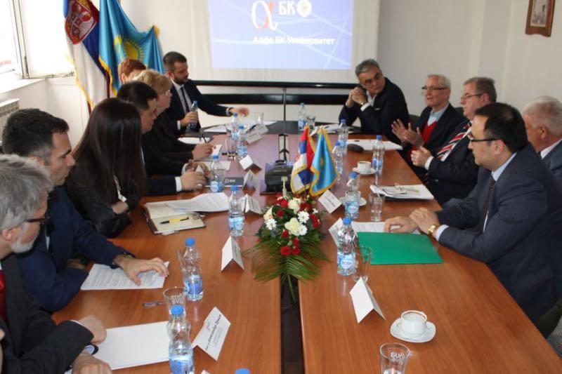 Kazakh Embassy in Belgrade holds a roundtable on President's program documents