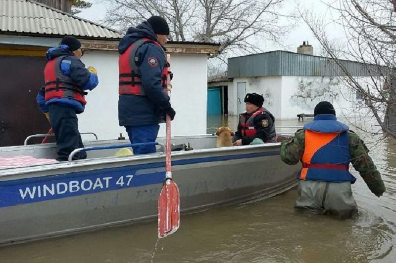 Павлодарские спасатели переправляют акмолинцев до трассы Астана-Костанай