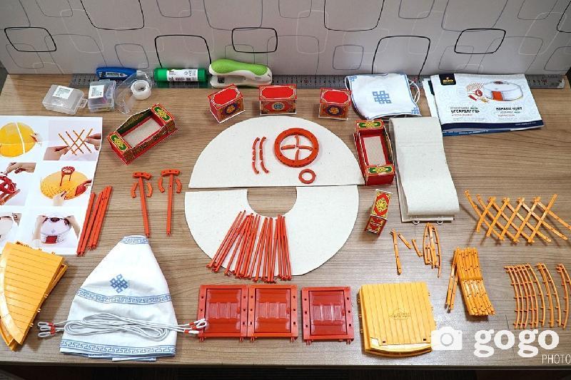 Юрта-конструктор вышла в продажу в Монголии