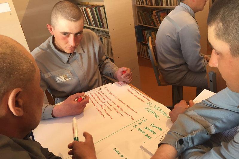 Осуждённых в колониях Павлодара научили вести бизнес