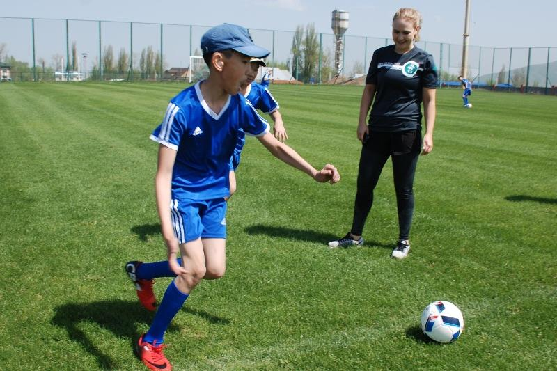 Казахстанские дети с ДЦП будут играть в футбол