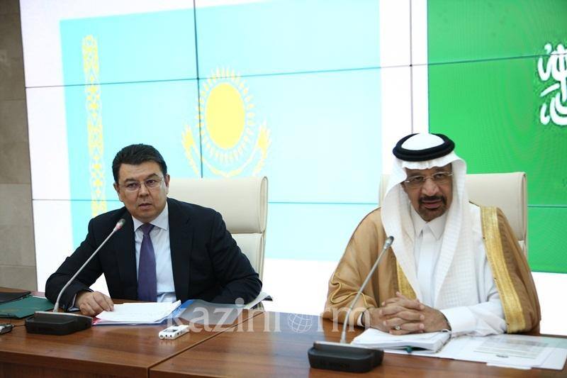Kazakh PM, Saudi Energy Minister to discuss oil cuts