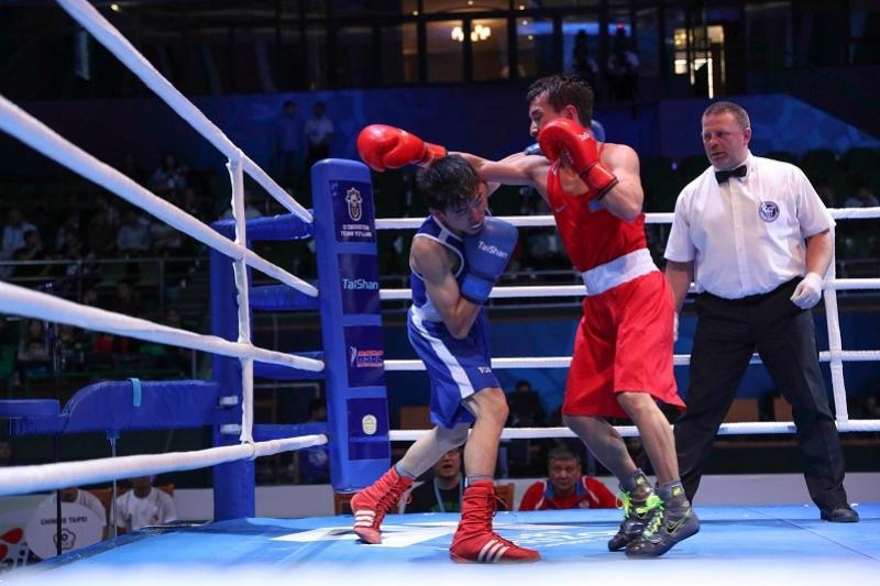Боксшы Ержан Жомарт Азия біріншілігінде бірінші қарсыласын ұтты