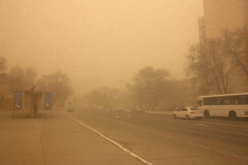 Dust storm to hit W Kazakhstan
