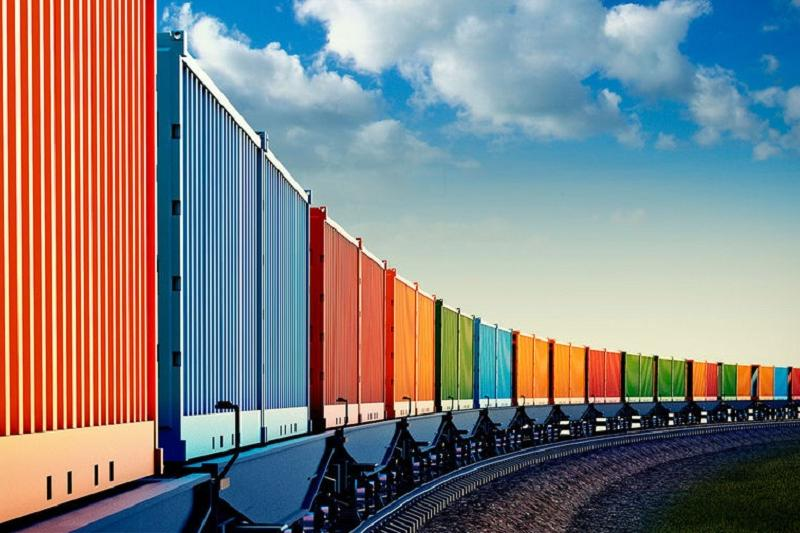 过境哈萨克斯坦的中欧集装箱运量大幅增长
