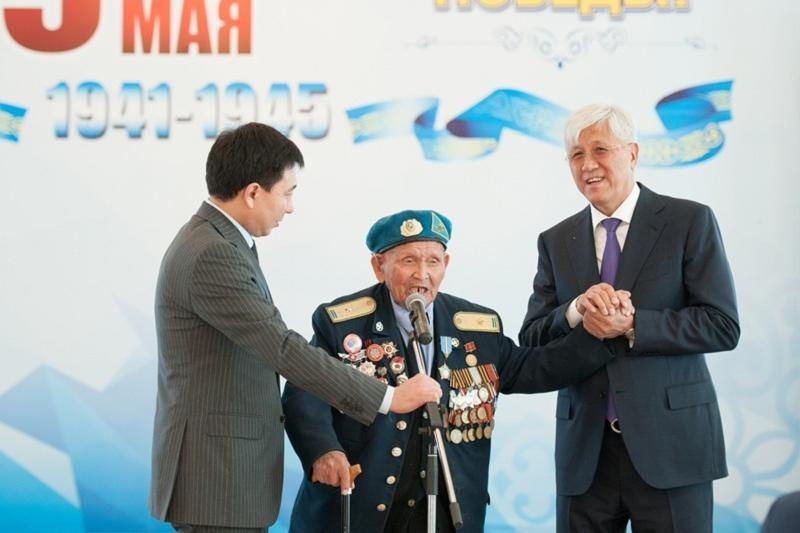 Алматы облысында соғыс ардагерлеріне құрмет көрсетілді
