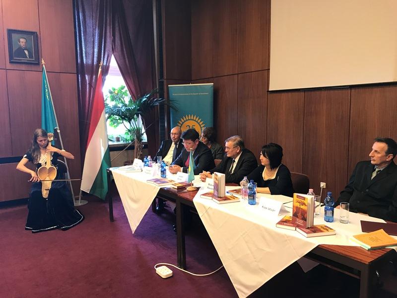 В Венгрии презентовали книгу казахского писателя Немата Келимбетова
