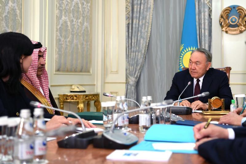 Saudi Arabia thanks Kazakhstan for its position on Syria