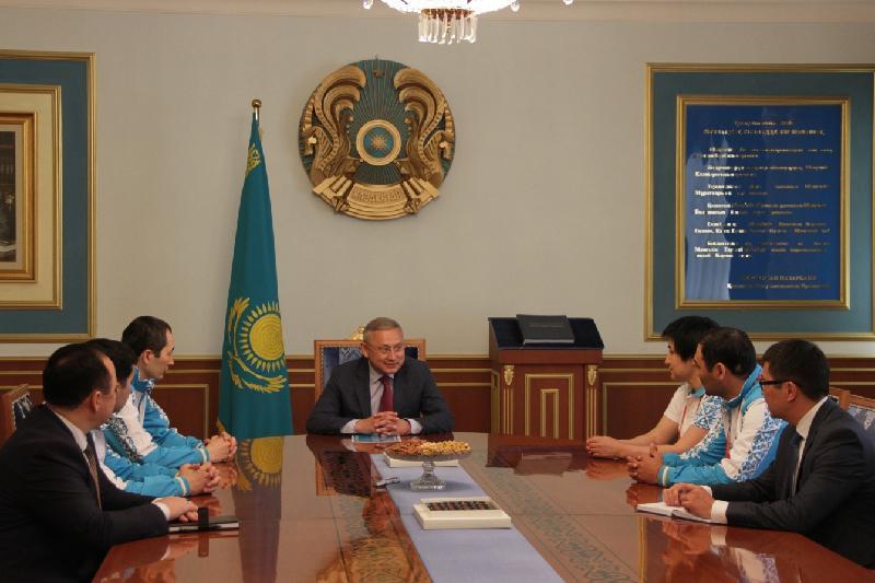 Посол Казахстана в Азербайджане пожелал удачи спортсменам на Исламиаде-2017