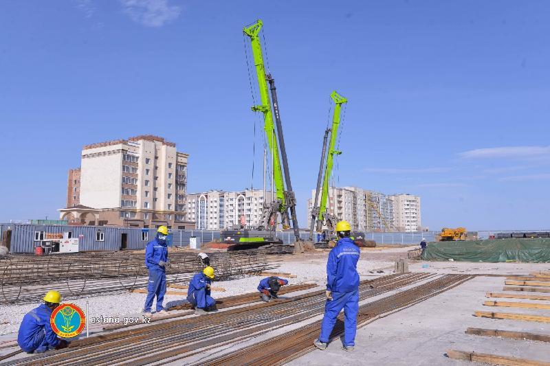 LRT құрылысының жабдықтары Астанаға жіберілді