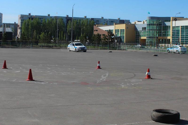 Лучших дорожных полицейских выбрали в Павлодарской области