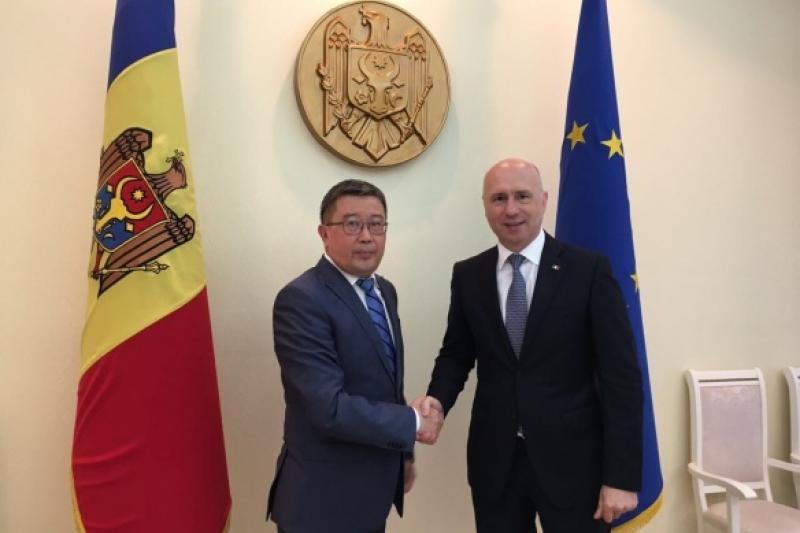 Moldova, Kazakhstan discuss bilateral coop