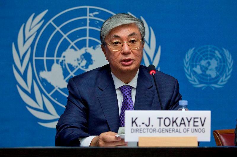 UNOG employees warmly recall their former chief Kassym-Jomart Tokayev