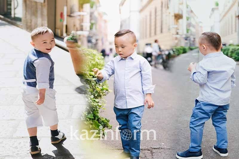 Четырехлетний малыш из Казахстана покоряет Милан