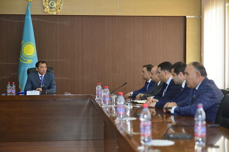Азербайджанские инвесторы изучают экспортный потенциал Атырауской области