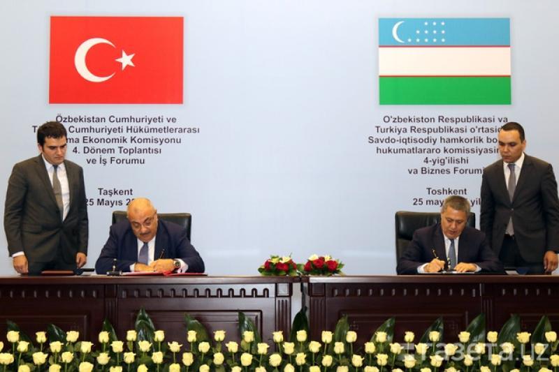 Өзбекстан мен Түркия құны 2 млрд доллар болатын келісім жасады