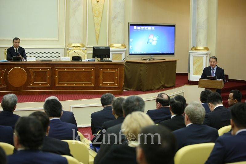 В Акорде прошло заседание Национальной комиссии по модернизации общественного сознания