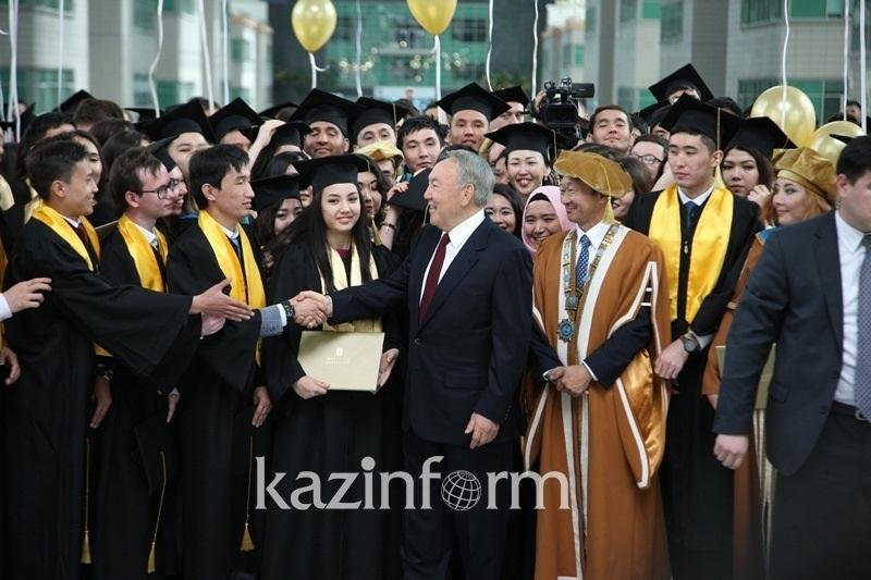 President proposes to spend part of Bolashak programme budget on NU