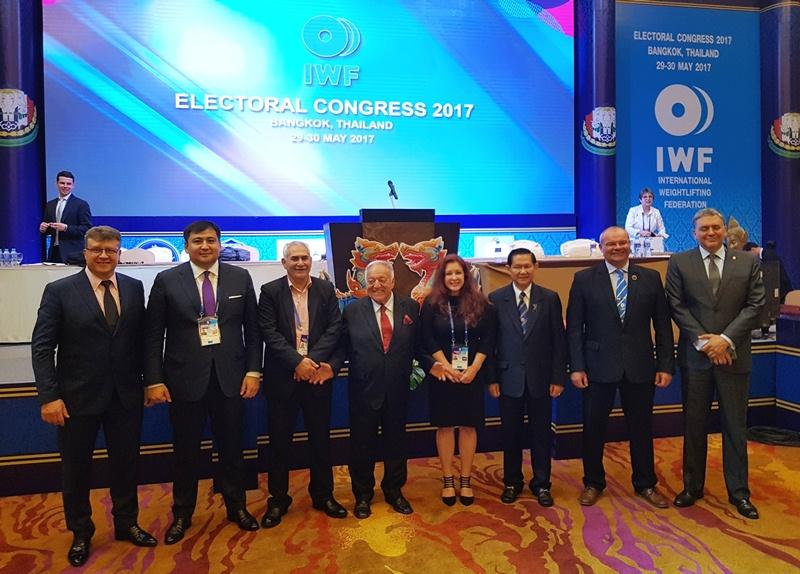 Жанат Тусупбеков избран вице-президентом Международной федерации тяжелой атлетики