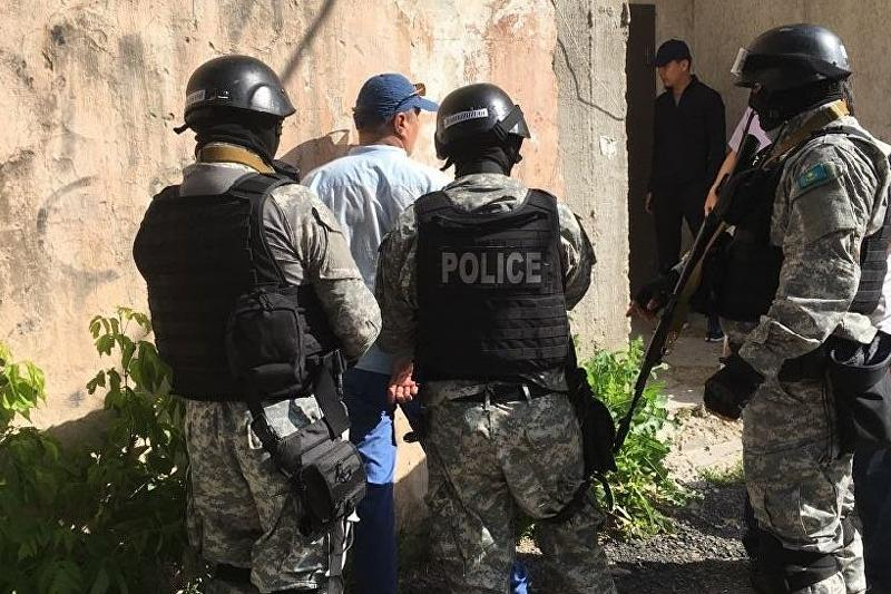 Fmr head of Almaty Auezov district police dept detained