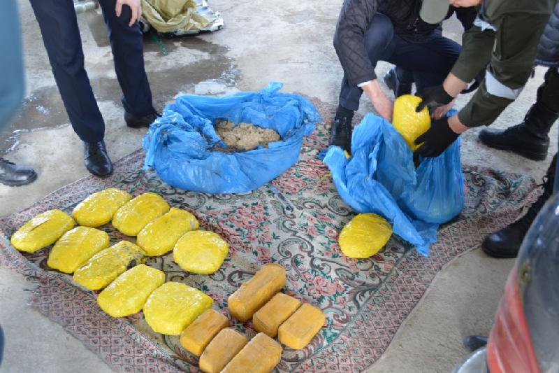 Kyrgyzstani tried to smuggle over 15 kg of heroin into Kazakhstan