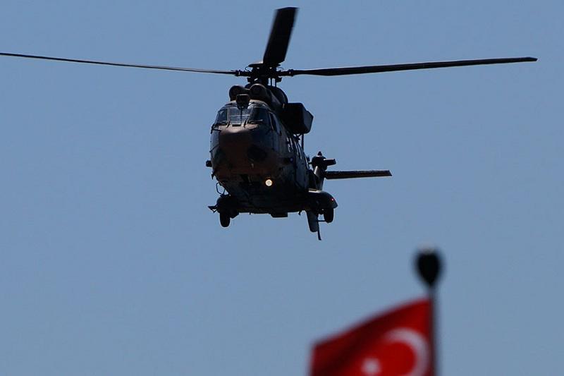 Түркияда әскери тікұшақ құлады