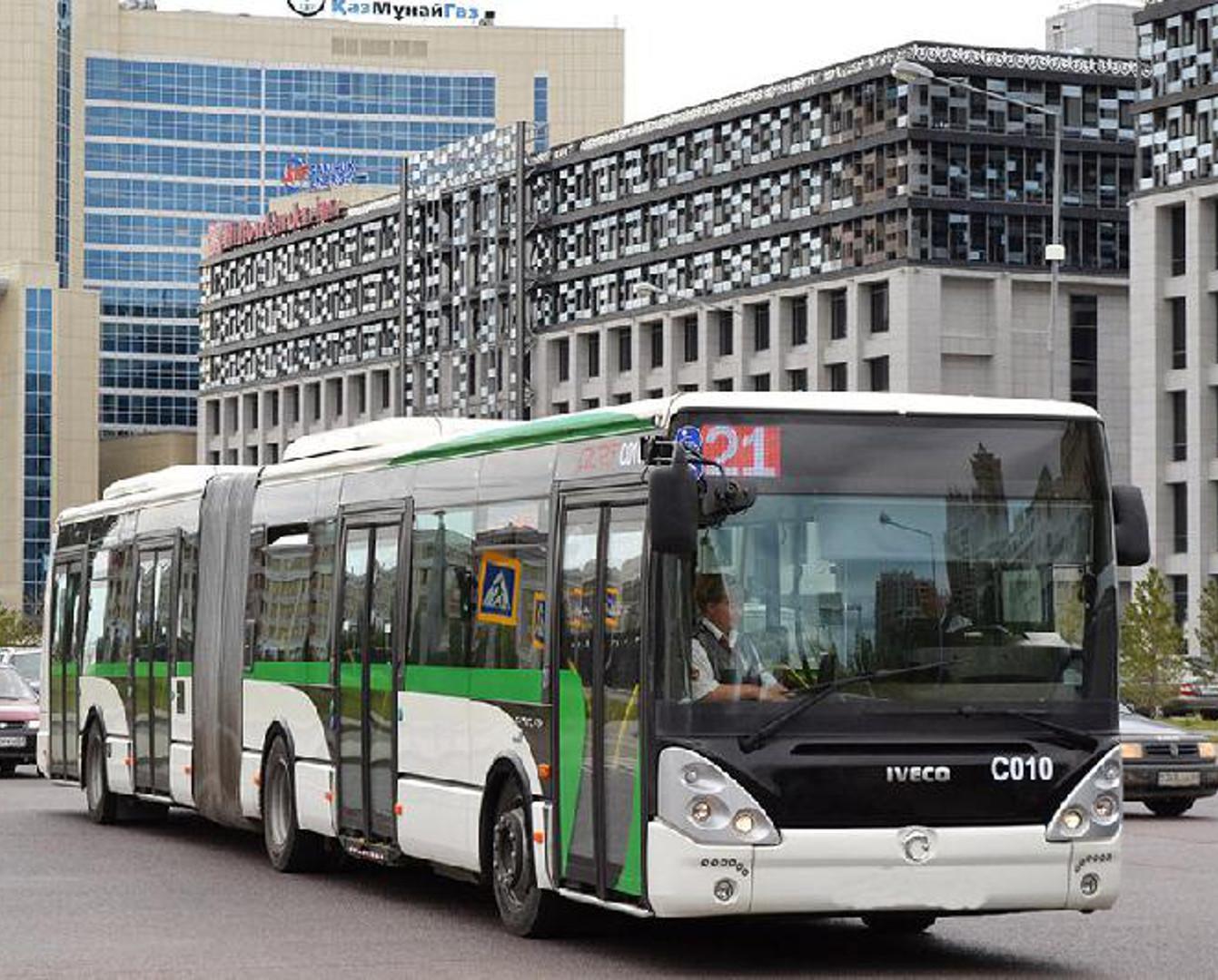 1 маусымда Астанада балалар автобуста тегін жүреді