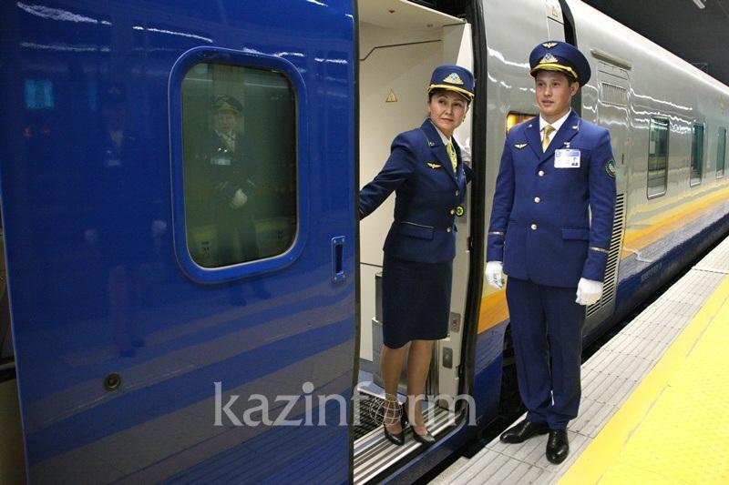 Запущен поезд сообщением «Астана-Алматы -Урумчи»