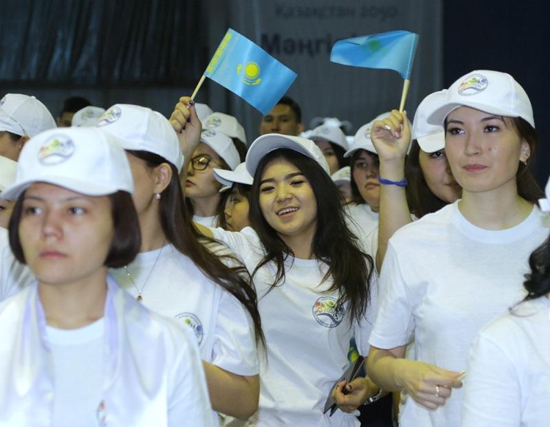 В Караганде прошел форум к 25-летию государственных символов