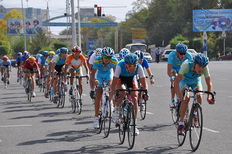 Открытый чемпионат по велогонкам прошел в Астане