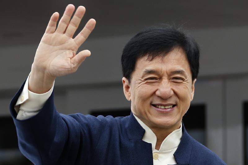 Jackie Chan comes to Astana